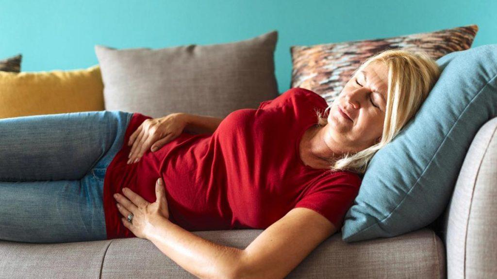 علت درد شکم پس از رابطه جنسی