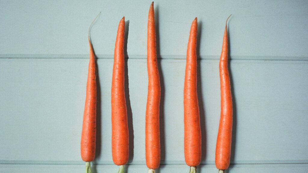 هویج، اسپرم سالم