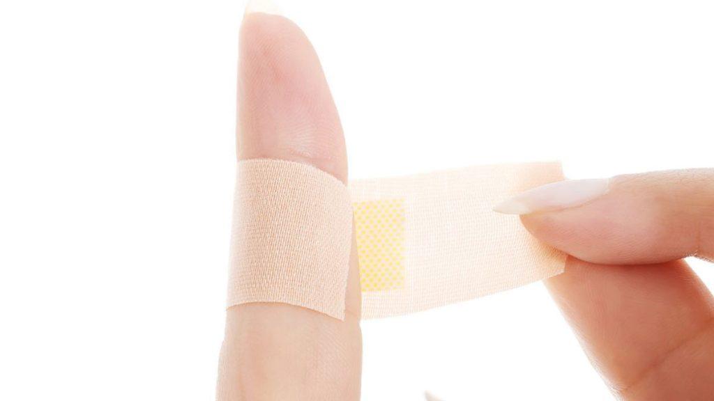 درمان زگیل با نوار چسب