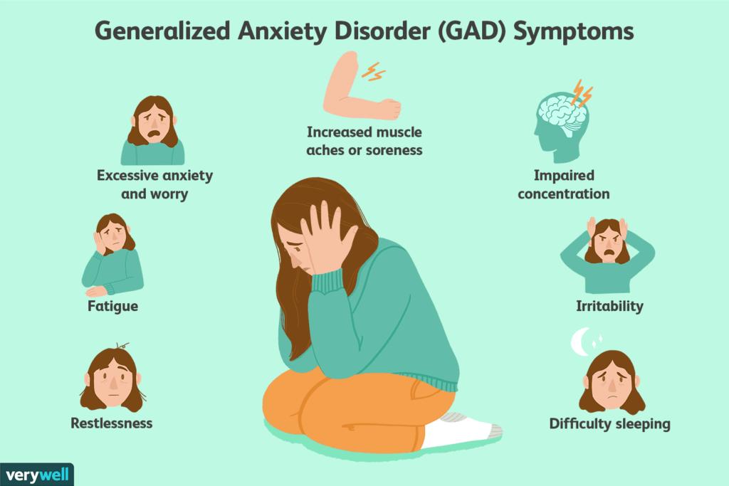 علل بروز اختلال اضطراب عمومی